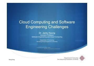 Cloud Computing and Software Engineering Challenges