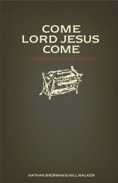 Come Lord Jesus Come: A Devotional for Advent - Providence Church