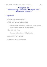 Chapter 24 Measuring Domestic Output and National Income