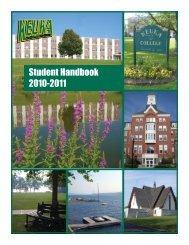 Student Handbook 2010-2011 - Campus Life & Student Affairs ...