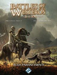 Battles of Westeros FAQ - Fantasy Flight Games