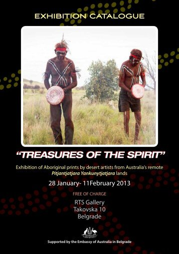 "exhibition catalogue ""treasures of the spirit"" - RTS"