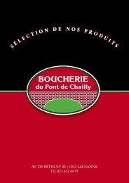 Catalogue de prix à télécharger - pont-chailly