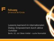 Vortrag von M.A. Karoline Spelsberg (pdf) - CHE Consult