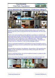 Casa Karoline, - Lanzarote Villa Owners