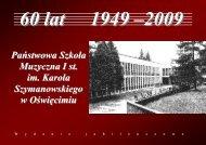 Państwowa Szkoła Muzyczna I st. im. Karola ... - psm-oswiecim.pl