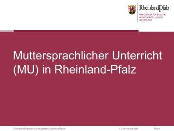 Muttersprachlicher Unterricht (MU) - bmi-kreis-germersheim.de