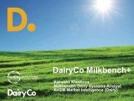 Milkbench+ Systems Analysis - Karolina Klaskova, Milkbench+ Dairy ...