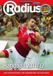 Radius Handball 2011