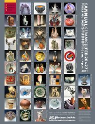 Ceramics Research Center - ASU Art Museum - Arizona State ...