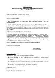 Javaslat a 2010. évi városi rendezvények tervére - Nyergesújfalu