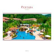 Factsheet - Centara Hotels & Resorts