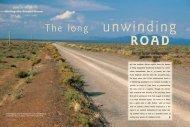 The long unwinding road: birding the Tanqua Karoo