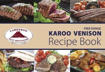 Free Range KAROO VENISON - Camdeboo Meat Processors