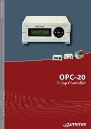 OPC-20 Pump Controller - Osmotex