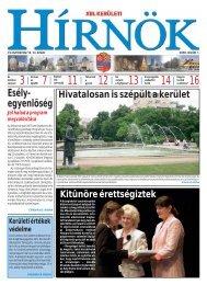 Hírnök 2009.07.01. - Sprint Kft.