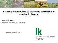 Austrian agri-environmental program - Unser Boden