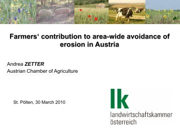Austrian agri-environmental program - Unser Boden
