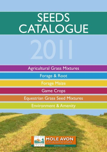 SEEDS CATALOGUE - Mole Avon