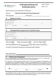 Prüfung - TÜV Rheinland Group