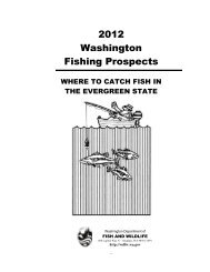 2012 Washington Fishing Prospects: Where to catch fish in the ...