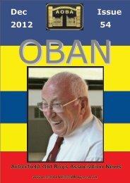 OBAN 54 - Arborfield Old Boys Association