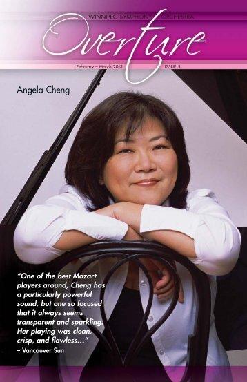 Angela Cheng - Winnipeg Symphony Orchestra