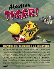 Warhawk Inc.'s Fabulous P-40 Restoration - Courtesy Aircraft