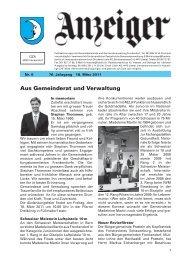 Gemeindeanzeiger Nr. 6 [PDF, 2.00 MB]