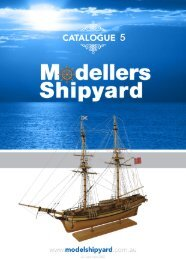 MSY Catalogue 2012 - Section 1 - Modellers Shipyard
