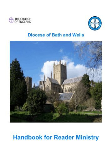 Handbook for Reader Ministry - Diocese of Bath and Wells