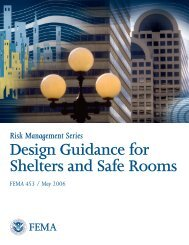FEMA 453 Design Guidance for Shelters and Safe Rooms