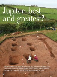 New excavations have revealed why the country's finest - Senhouse ...