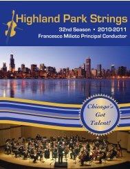 2010-2011 brochure.pdf - Highland Park Strings