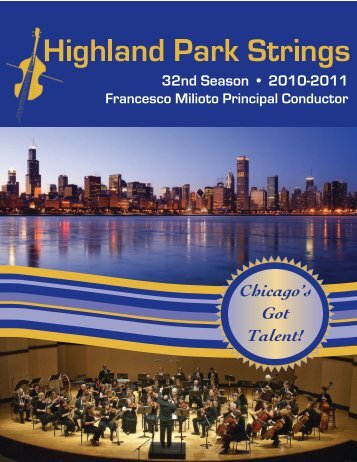 2010-2011 brochure.pdf - Highland Park Strings