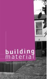 building material - Architectural Association of Ireland