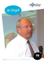 De Lingot is een magazine van en voor de Nyrstar Budel ...