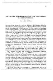 DIE DRITTEN 50 JAHRE RÖMERZEITLICHE ARCHÄOLOGIE IN ...