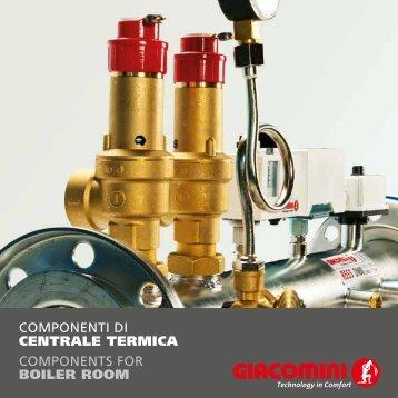 COMPONENTI DI CENTRALE TERmiCA COMPONENTS FOR ...