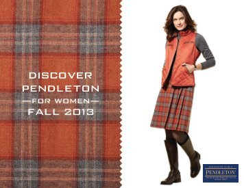 Pendleton Women's Fall 2013 Lookbook .pdf