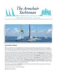 July - Mayfield Yacht Club