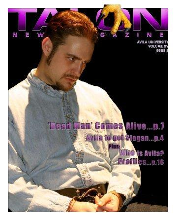AVILA UNIVERSITY VOLUME XV ISSUE 5