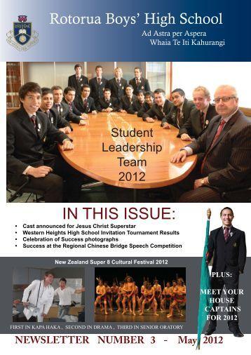 May 2012 - Rotorua Boys High School