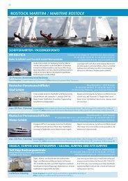 Erlebnis Maritim und Incentives - Rostock