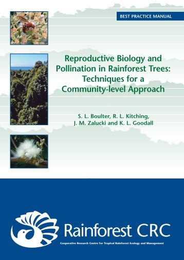Reproductive Biology and Pollination in Rainforest Trees ...