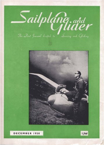 Sailplane & Glider 1950 - Lakes Gliding Club