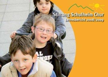 BERICHT DES GESCHÄFTSLEITERS - Schulheim Chur