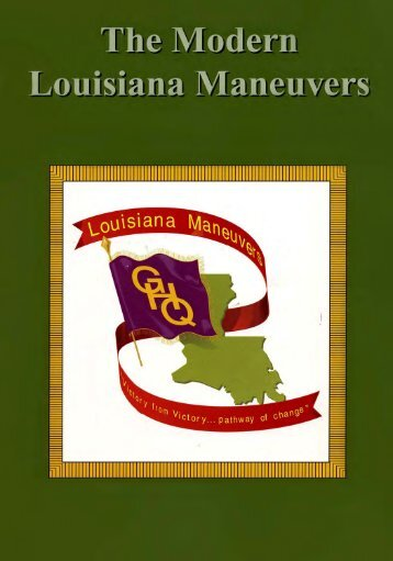 The Modern Louisiana Maneuvers - US Army Center Of Military History