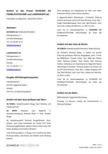 Bitte anklicken! - Schwarz AG