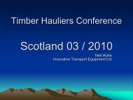 Neil Wylie - Timber Transport Forum